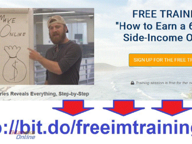 Free Training - How to earn 6 figure side-income online