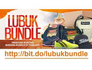 Panduan Bisnes Bundle - Rahsia Lubuk Supplier Barang Bundle didedahkan