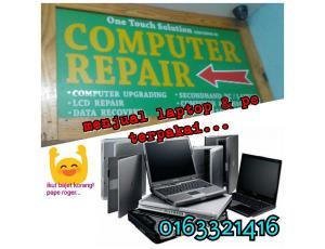 Menjual laptop & PC Terpakai Murah Shah Alam