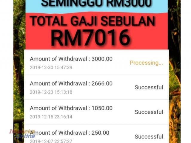 Jana Pendapatan Sampingan | Cepat & Mudah | FINGO e-Commerce | 012.232.0276