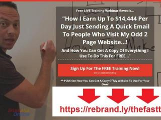 Free Training - How to make $1k a day sending a few emails