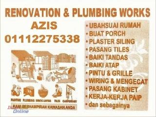 plumbing dan renovation 01112275338 wangsa maju