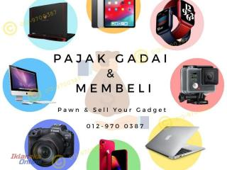 PAJAK GADAI & MEMBELI / PAWN or SELL YOUR GADGET / Laptop Phone Camera Tablet 0129700387