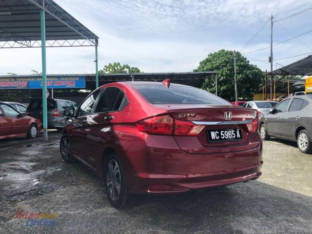 2015 HONDA CITY 1.5(A) V SPEC I-VTEC ONE OWNER