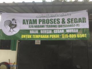 Pembekal/Supplier Ayam proses Segar Selangor