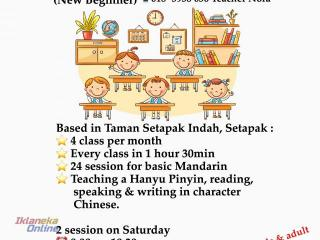 mandarin tuition for kids & adult
