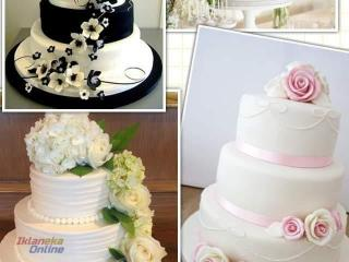 Tempahan Kek perkahwinan